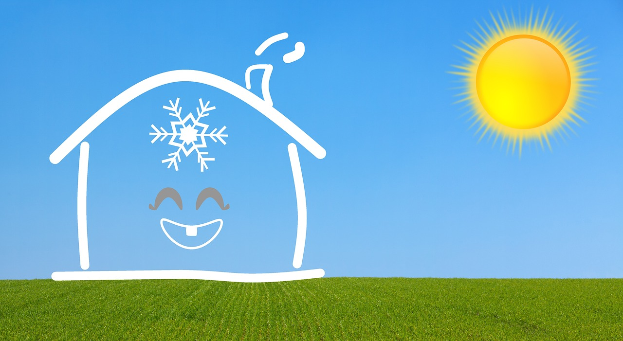 Hitze im Haus